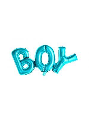 Sininen foliopallo BOY
