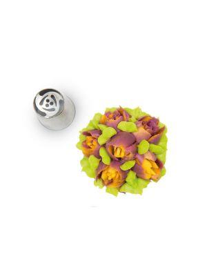 Silikomart 3D Kukkatylla - Erikoiskukkatylla Russsian flower tip.