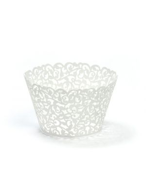 Cupcake Wrappers, Valkoiset helmiäishohtavat