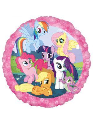 Pyöreä Foliopallo My Little Pony, 43cm