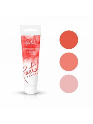 Fractal Colors FullFill Gel Strawberry Red - Mansikanpunainen pastaväri, 30g.