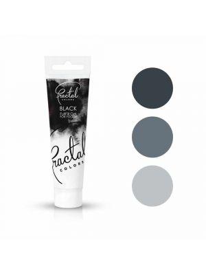 Fractal Colors FullFill Gel Black - Musta pastaväri, 30g.