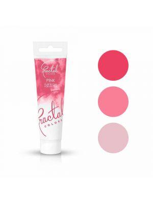 Fractal Colors FullFill Gel Pink - Vaaleanpunainen pastaväri, 30g.
