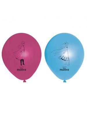 Frozen 2 ilmapalloja, 8kpl.