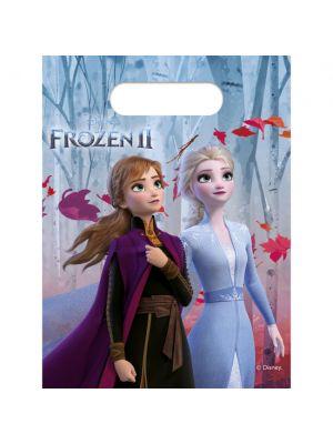 Frozen 2 lahjapussit, 6 kpl.