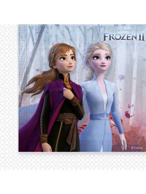 Frozen 2 lautasliinat, 20 kpl.