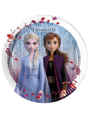 Frozen 2 paperilautaset, 8 kpl.