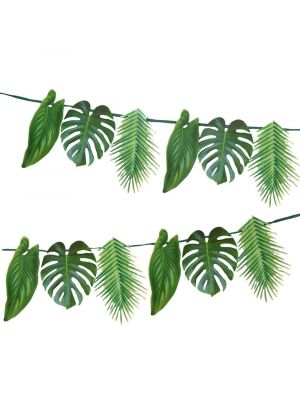 Trooppiset palmunlehdet - viiri.