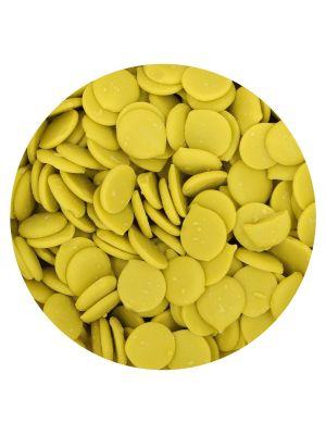 FunCakes Deco Melts Lime Green - Limevihreät suklaanapit, 250g.