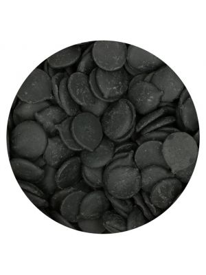 Fun Cakes mustat Deco Melts, 250g.