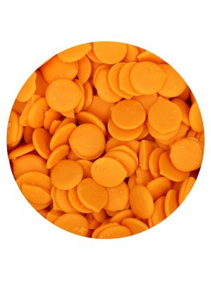 FunCakes Deco Melts Orange - Oranssit suklaanapit, 250g.