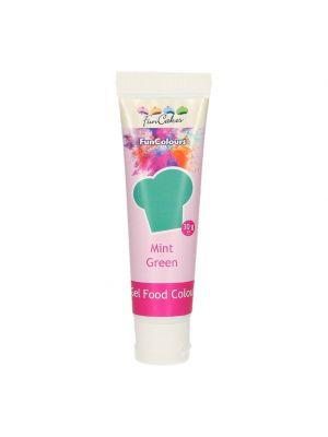 FunCakes FunColours Gel Food Colour Mint - Mintunvärinen pastaväri, 30g.
