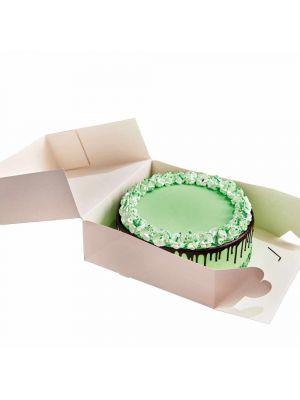 FunCakes kakkulaatikko 32 x 32 x 11,5 cm. Pakkauksessa 2 kpl kakkulaatikkoa.