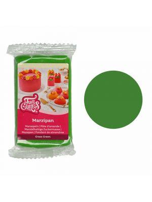 FunCakes Marzipan Grass Green - Metsänvihreä marsipaani, 250g.