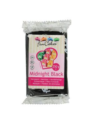 FunCakes Marzipan Midnight Black - Musta marsipaani, 250g.