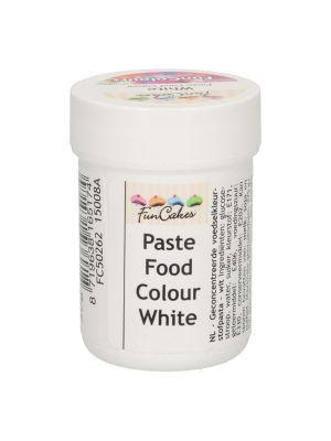 FunCakes valkoinen pastaväri, 30g.
