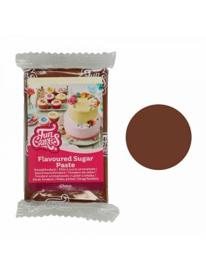 FunCakes suklaanmakuinen ruskea sokerimassa, 250g.