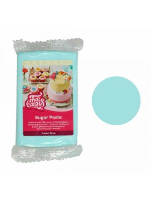 FunCakes Sugar Paste Pastel Blue - Pastellinsininen sokerimassa, 250g.