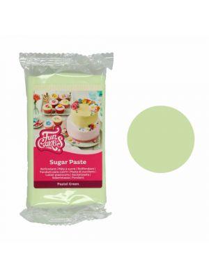 FunCakes Sugar Paste Pastel Green - Pastellinvihreä sokerimassa, 250g.