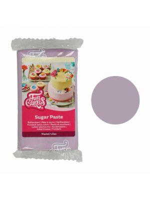 FunCakes fondanttikuorrute - Pastellinvioletti sokerimassa, 250g.