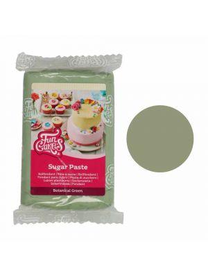 FunCakes Sugar Paste Botanical Green - Pistaasinvihreä sokerimassa, 250g.