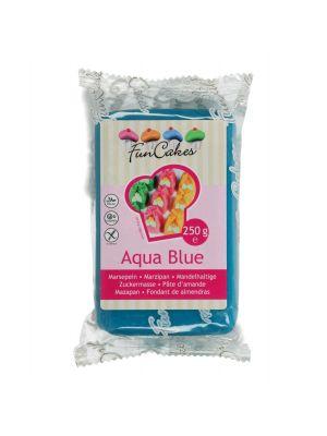 FunCakes Marzipan Aqua Blue - Merensininen marsipaani, 250g.