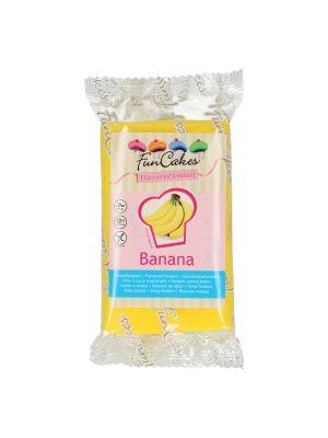 FunCakes banaaninmakuinen sokerimassa/banaanifondantti, 250g.