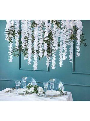 Valkoinen Kukkakköynnös, 180cm