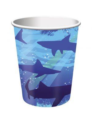 Hai-pahvimukit, 8 kpl.