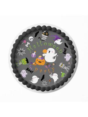 Kakkukuva - Halloween Suloiset Kummitukset