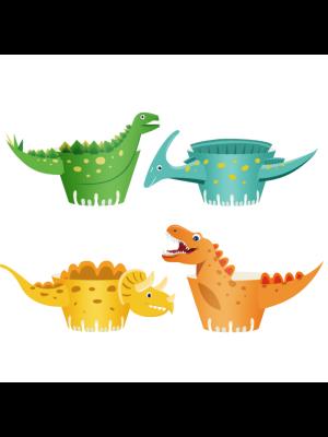 Muffinikääreet, Happy-Dinos, 8kpl