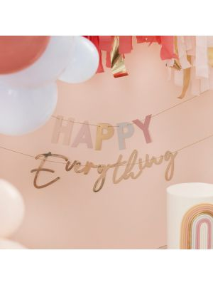 Banneri, Happy Everything
