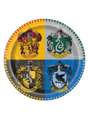 Pahvilautaset, Harry Potter, 18cm, 8kpl