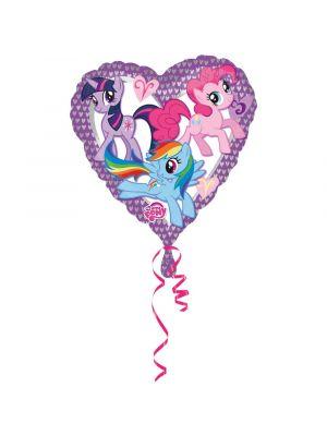 Sydän Foliopallo My Little Pony, 43cm
