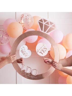 "Polttari Photo Booth ""Team Bride""."