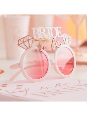 "Morsiamen silmälasit, ""Bride To Be""."