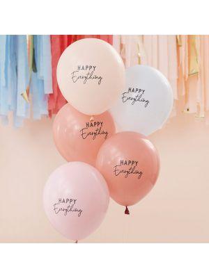 Ilmapallot, Happy Everything, 5 kpl