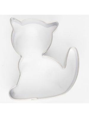 Metallinen kissa-muotti, 5 cm.