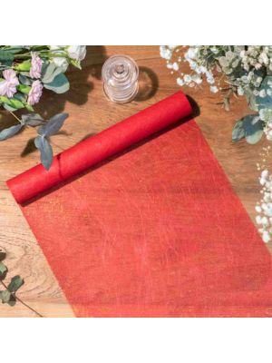 Kaitaliina Kuitukangas- Punainen, 30x500cm