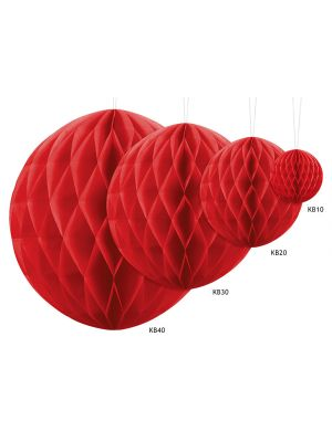 Honeycomb Punainen