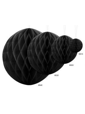 Musta honeycomb.