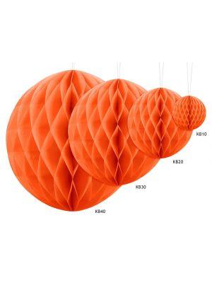 Oranssinvärinen honeycomb.