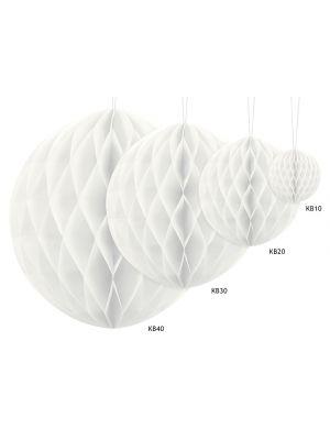 Honeycomb Valkoinen