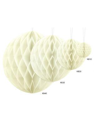 Honeycomb Kermanvalkoinen