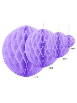 Paperipallo, hunajakenno, violetti