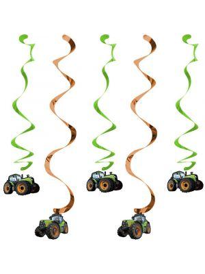 Roikkuvat koristeet, Traktori, 5kpl