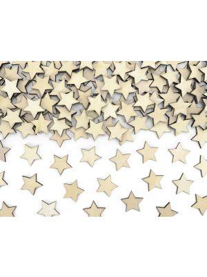 Puiset tähdenmuotoiset konfetit, 50 kpl.
