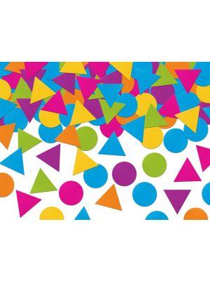 Moniväriset ja monimuotoiset pahviset konfetit ovat täydellisiä pöytäkoristeita monsters-teemajuhlaan tai sirkus-teemajuhlaan!