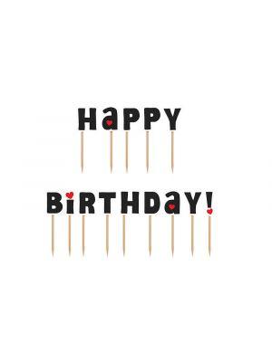 """Koristetikut """"Happy Birthday!""""."""