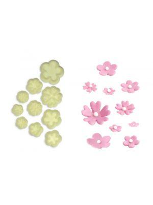 Painomuotti - Pienet kukat, 10 kpl.